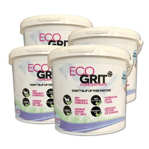 ECOGrit Concentrate buckets of Ice melts