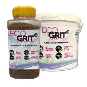 Eco friendly ice melt